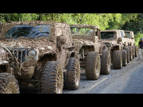 Extreme Mudding In Puerto Rico | Most Extreme Off Road Trail In Puerto Rico | Las Cadenas |