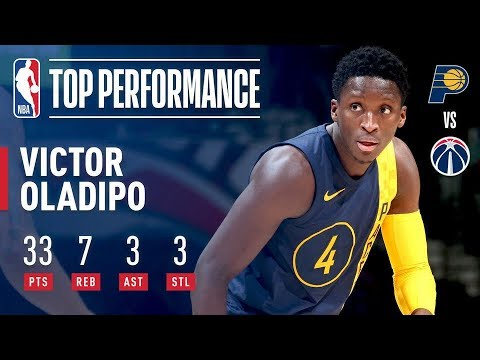 Victor Oladipo Fills The Stat Charts In The Win vs The Wizards!