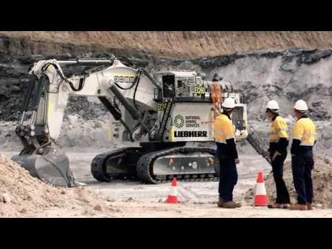 Liebherr R 9800 Transport Assembly And Operation Youtube