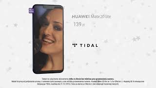 Smartfon Huawei Mate 20 lite za 1 zł i dostęp do TIDAL nawet 2 lata za darmo!