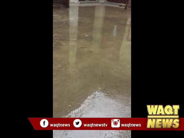سیالکوٹ : شہر اور گردونواح میں بارش جاری، موسم مزید سرد ہوگیا