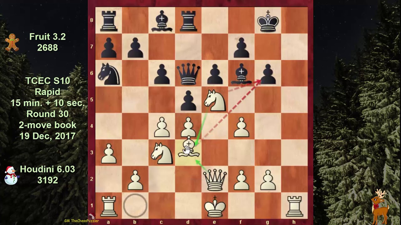 How To Destroy A Chess Engine In 26 Moves: Houdini 6 03 vs Fruit 3 2