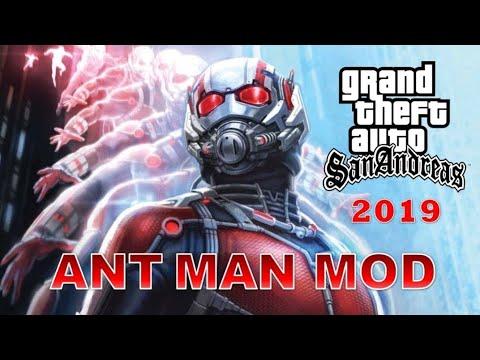 GTA San Andreas Ant Man Mod 2019 (NEW)
