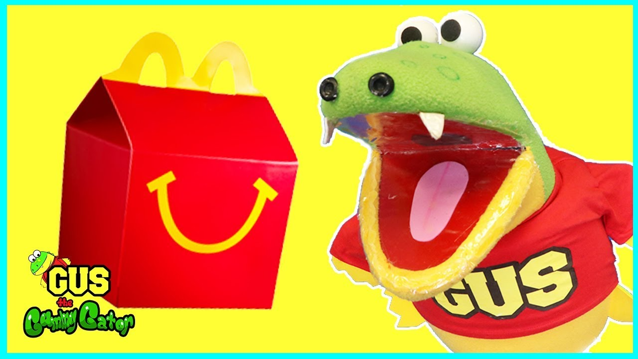 McDonalds Happy Meal Does Not Taste Good with Giant Bugs ...