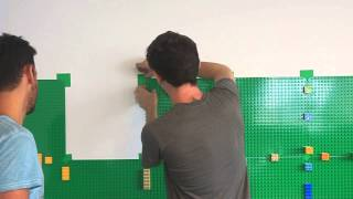 Lego Wall By Luka