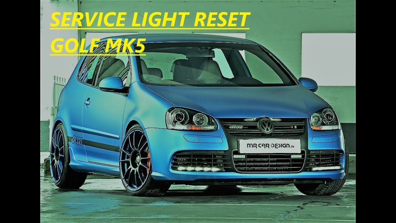 How to Reset Service light on Vw Golf mk5 2006