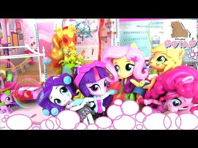 Куклы my little pony: equestria girls – это серия кукол из волшебной страны эквестрии. В нашем магазине можно купить игровые наборы с небольшими куколками, коллекционные фигурки и классические куклы equestria girls. По сюжету куклы май литл пони любят устраивать спортивные состязания,