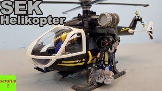 Playmobil SEK Helikopter 9363 auspacken seratus1 Spezialeinsatzkommando