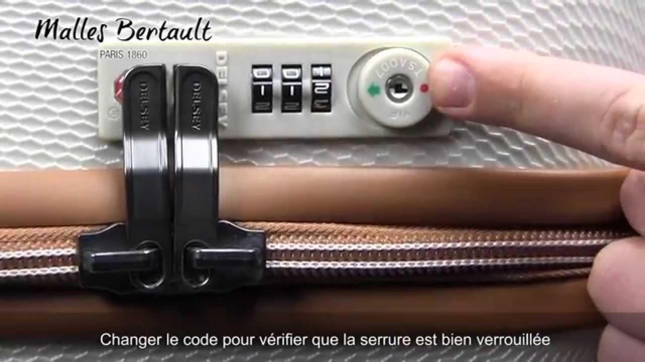 Comment changer le code d 39 une valise delsey - Comment changer le code d un cadenas ...