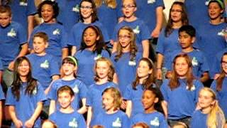 2012 Moore Elementary Honor Choir - A Zing-A Za