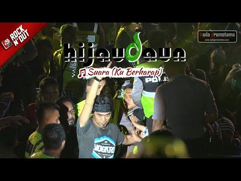 [NEW] Hijau Daun - Suara (Ku Berharap) | Live Konser ROCK N' DUT | MAJALENGKA 30 September 2017