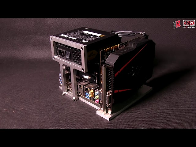 Build itx pc with bench table, mini case, show inside your tiny pc