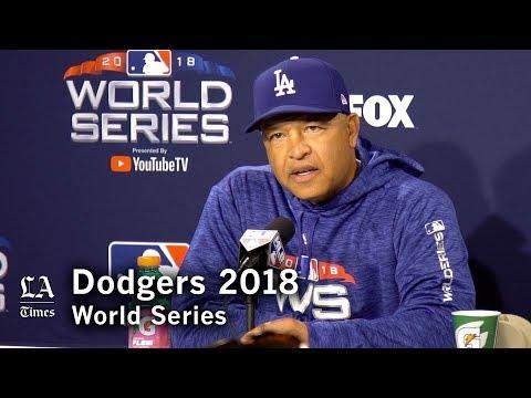 World Series 2018: Dave Roberts on Alex Cora, Yasiel Puig, and Manny Machado