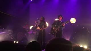 """JohnnySwim entrance and """"over"""" performance in Houston at White Oak Music Hall"""