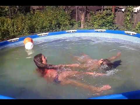 Не хотел купаться!!! Did not want to swim !!!