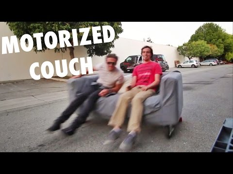 Thumbnail: SUPERPOWERED Motorized Couch
