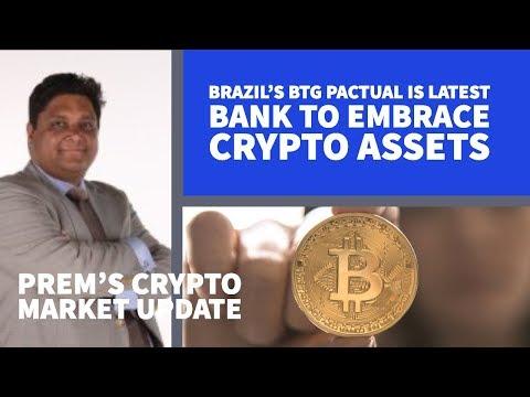 De Grootste Zuid Amerikaanse Investment Bank start met Crypto Assets