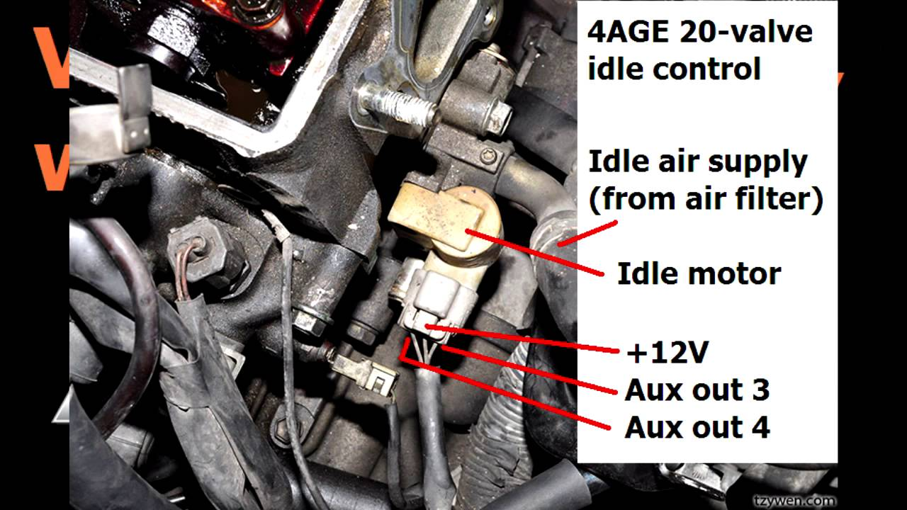 idle valves how to wire them how to set up the aux outputs in the ecu [ 1280 x 720 Pixel ]