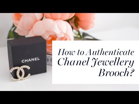 How to Authenticate Chanel Jewellery | Brooch? - YouTube