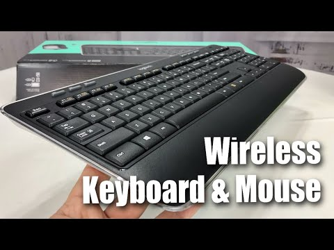 logitech mk520 wireless keyboard and mouse combo review youtube. Black Bedroom Furniture Sets. Home Design Ideas