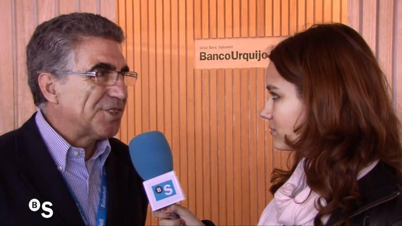 Entrevista al ex tenista Manuel Orantes en el Barcelona Open Banc
