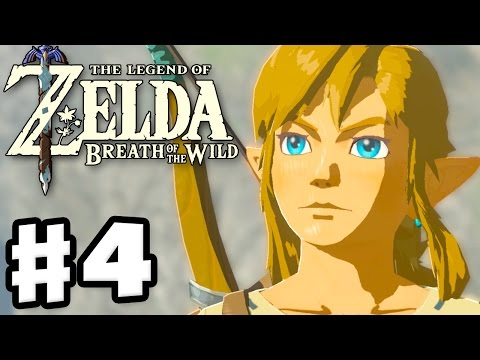 Old Man's Story of Hyrule! - The Legend of Zelda: Breath of the Wild - Gameplay Part 4