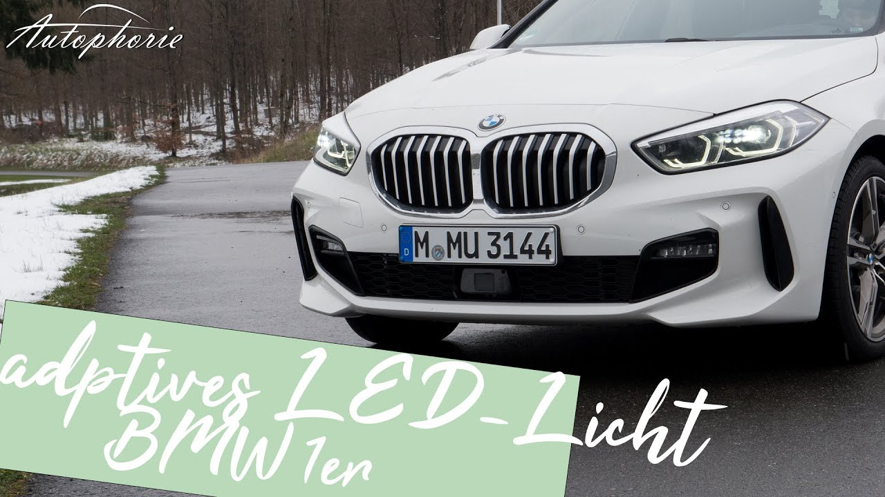 2021 BMW 1er (F40): adaptive LED-Scheinwerfer Test [4K ...