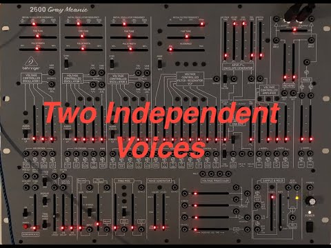 2600 - Quick Tips Tutorial 6 - Two Independent Voices