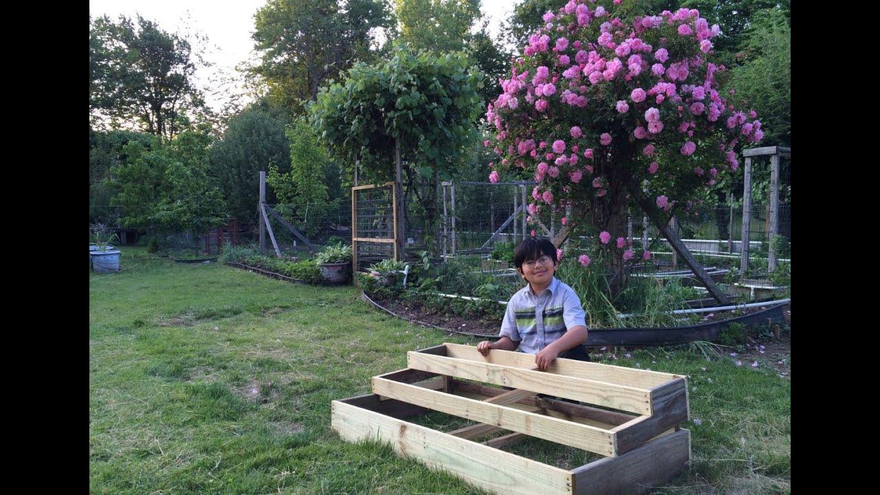 Gardening Ideas My Mom's Vegetable & Flower Garden How My Dad