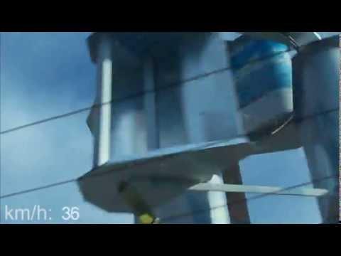 Open Source Wind Turbine 100 km/h Survival Test