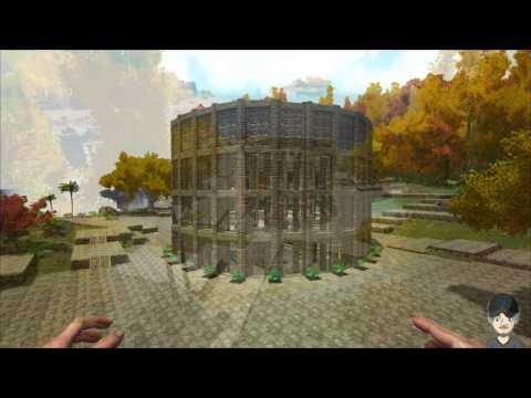 Ark Survival Evolved - Roman Coliseum or Colosseum Build Reveal.