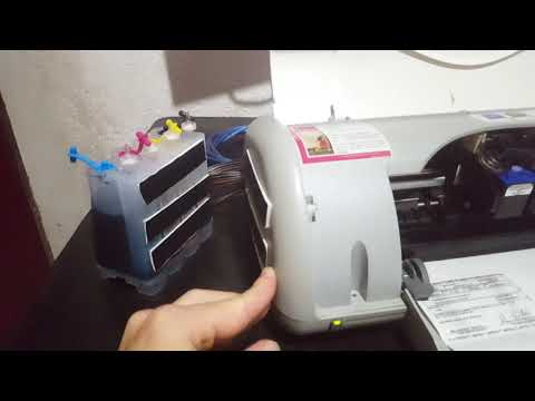 HP Deskjet D1360 - Bulk Ink