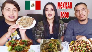 MEXICAN FOOD MUKBANG WITH ALANNIZED!!! (Hilarious)
