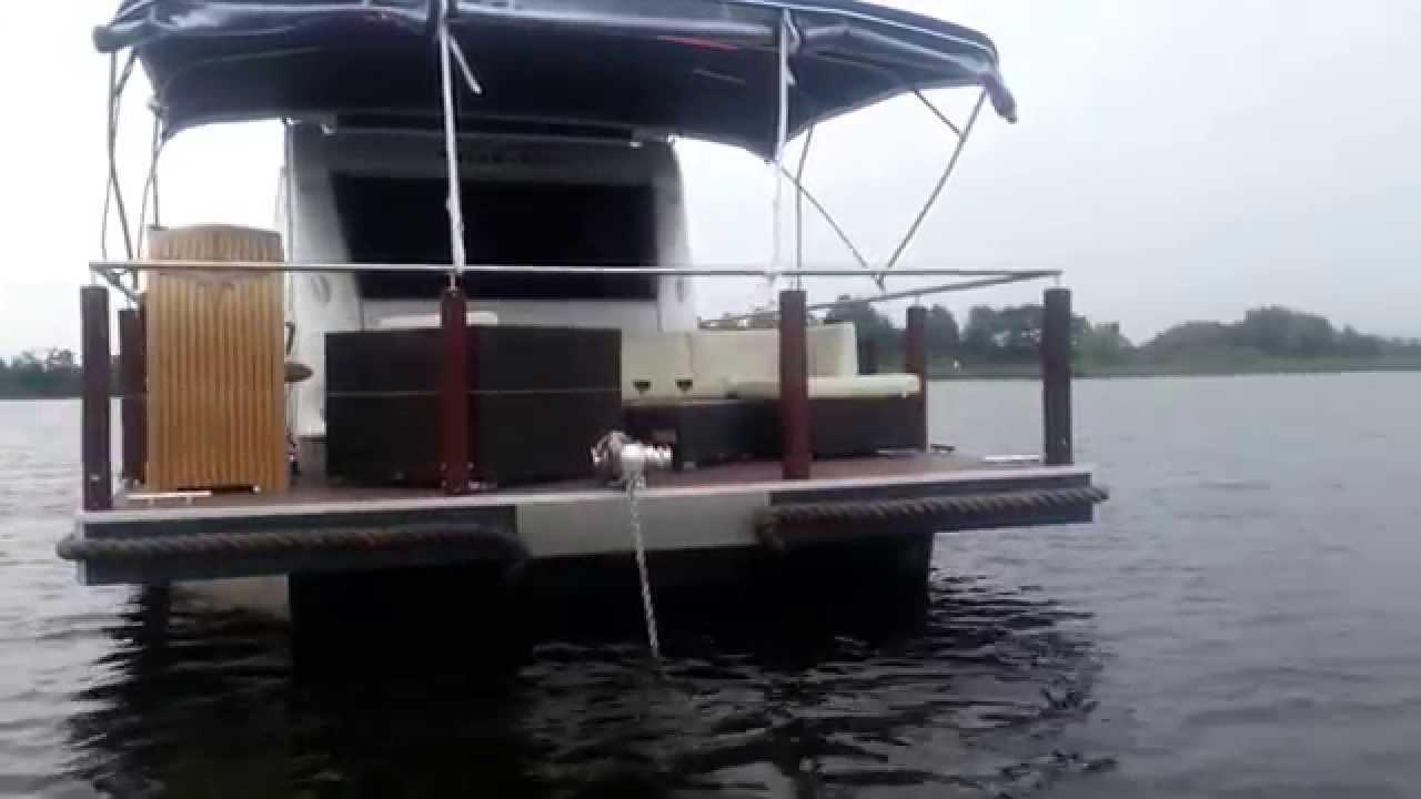 ponton hausboot selber bauen good m houseboat with ponton hausboot selber bauen gallery of. Black Bedroom Furniture Sets. Home Design Ideas