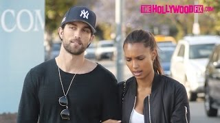 Jasmine Tookes & Tobias Sorensen Go Shopping At Fred Segal In West Hollywood 5.16.16