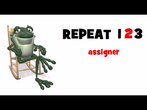 LEARN FRENCH = Assigner
