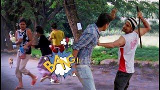 Gundagiri Prank in the streets of Bengaluru | INDIA | Gone wrong