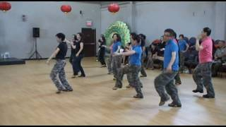Line Dance Performance - Hoedown Throwdown