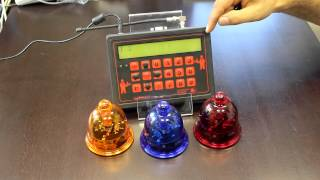 Система вызова официанта RECS | Приемник и кнопка вызова(Как работает система вызова официантов RECS. Посетитель, находясь за столиком, нажимает на колокольчик - кноп..., 2012-07-03T13:59:47.000Z)