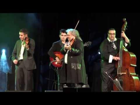 """Roby Lakatos with broken a"""" String   Bireli Lagrene   Sandro Roy   A. Varady"""