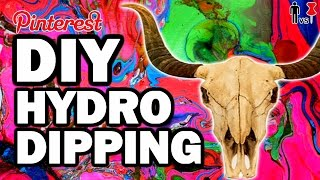 DIY Hydro Dipping - Pinterest Test - Man Vs Pin #95