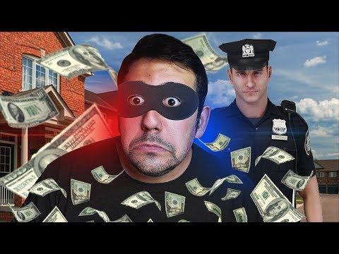 PROBLEMAS CON LA POLICIA !! LADRON PROFESIONAL SIMULADOR - ElChurches