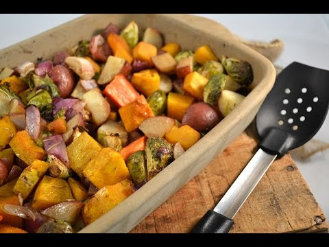 Oven Roasted Vegetables Recipe - Baked Garden Vegetables | RadaCutlery.com