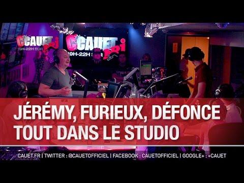 Download Jeremy, furieux, défonce tout dans le studio  - C'Cauet sur NRJ