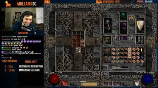 Diablo 2 - Holy Grail Sorc - GG FIND #65! - 2 ITEMS REMAIN ARE YOU KIDDING ME?! CHRISTMAS MIRACLE!