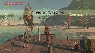 Zelda: Breath of the Wild   Sunken Treasure Side Quest - Faron Tower Region