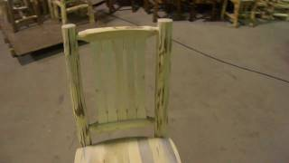 Amish Made Montana Log Furniture Side Chair By Montana Woodworks