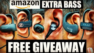Video 6 Best Bluetooth Headphones Available on Amazon | Cool and Stylish Headphones for BASS LOVERS download MP3, 3GP, MP4, WEBM, AVI, FLV Juli 2018