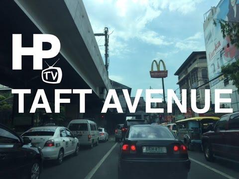 Taft Avenue Drive Manila Philippines by HourPhilippines.com