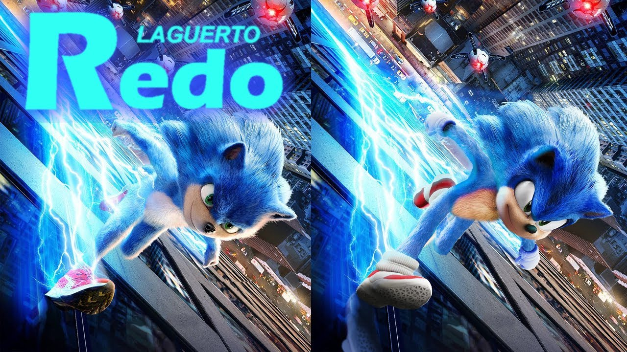Laguerto Redo Sonic The Hedgehog Movie Drone Chase Poster S1 5 Youtube